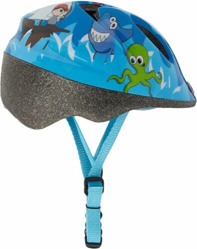 44-50 cm Raleigh enfants Kid/'s Rascal Pirate Cycle Casque-Bleu