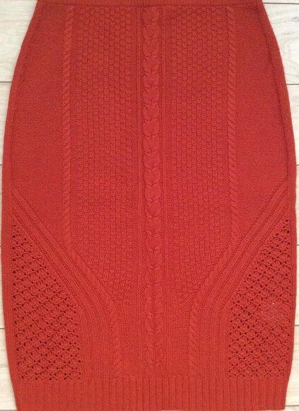 Needled Paths Sweater Skirt By Sparrow Size X-Small, Small NW ANTHROPOLOGIE Tag