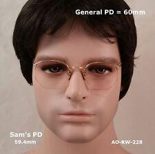 AO Rimway CROSSLEY - 12k Gold Fill - True Antique Eyeglasses & Case