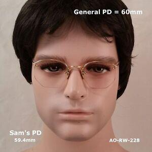 AO-Rimway-CROSSLEY-12k-Gold-Fill-True-Antique-Eyeglasses-amp-Case