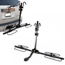 Upright Heavy Duty 2 Bike Bicycle Hitch Mount Carrier Platform Rack Truck SUV