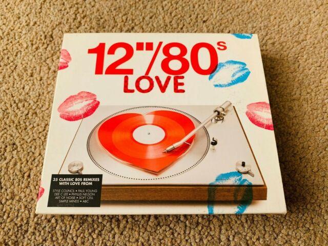 "Various Artists - 12"" / 80s Love 35 Classic 80's Remixes 3CD Triple"