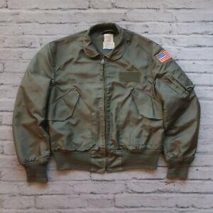 Vintage-USAF-US-Air-Force-Flyers-CWU-36-P-Jacket-L-Alpha-Industries-Military