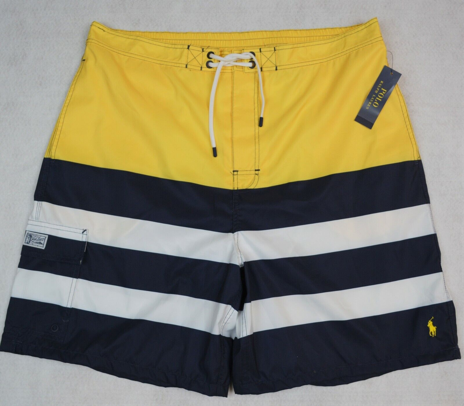 Polo Ralph Lauren Swim Trunks Board Shorts bluee Size 3XB 3X NWT