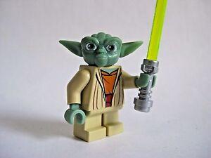 image is loading lego yoda minifigure with lightsaber star wars 8018 - Lego Yoda