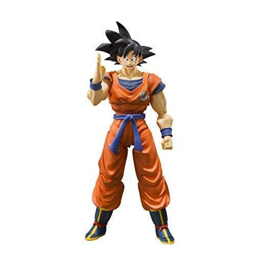 SH S.H. Figuarts Dragon Ball Z DBZ Son Goku Figure Saiyan Grown on Earth Bandai
