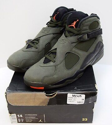 timeless design e0b35 cd46d Details about Nike Air Jordan 8 Retro Take Flight Undefeated 1 union New  305381-305 4-2