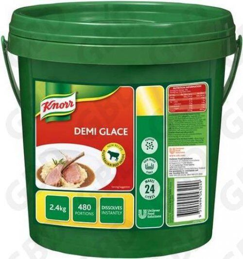 KNORR GRAVY SAUCE DEMI GLACE 2.4KG