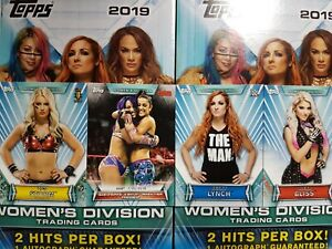 2019-Topps-WWE-Women-039-s-Division-1-100-COMPLETE-YOUR-SET-YOU-PICK-FROM-LIST