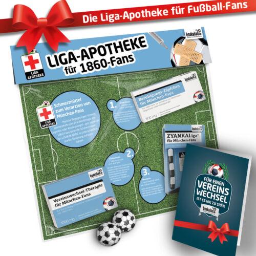 50.GeburtstagMänner-Glücklich-SetBundesliga Notfall-Set für Fußball-Fans