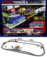 Power Trains Auto Loader City Motorized Train Set - 5 Cars - Easy Set Up