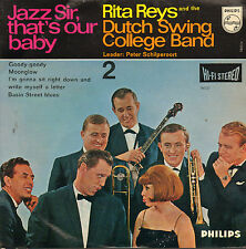 """RITA REYS & DUTCH SWING COLLEGE BAND - Jazz Sir That's Our Baby -2 (1964 EP 7"""")"""