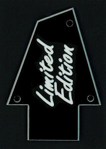 GUITAR-TRUSS-ROD-COVER-Custom-Engraved-Fits-IBANEZ-LIMITED-EDITION-Black