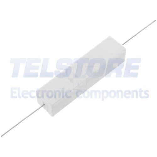 1pcs AX20W-8R2 Résistance bobinée ciment THT 8,2Ω 20W ±5/% 14,5x13,5x60mm