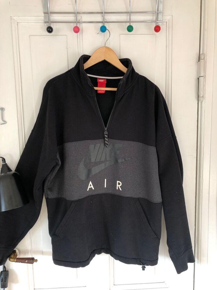 Nike Half Zip Air Top   Sort   Crewnecks   861620 010