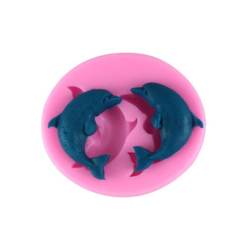 Delphin Silikonform 3D Fondant Seife Praline Sugarcraft  YTWTDE
