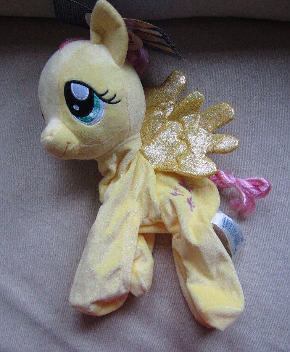 NWT BUILD A BEAR MLP My Little Pony Fluttershy unstuffed giallo Pegasus