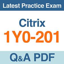 Citrix Practice Test 1Y0-201 Managing Citrix XenDesktop 7.6 Solutions Q&A PDF