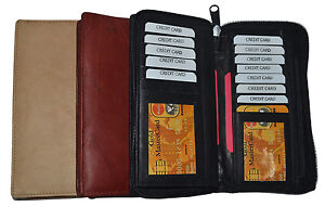 Genuine-Leather-Checkbook-Cover-Wallet-Organizer-with-Credit-Card-Holder