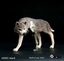 AS TOYS AS001 Black 1/6 Scale Wolf of War Toy Collection Action Figure