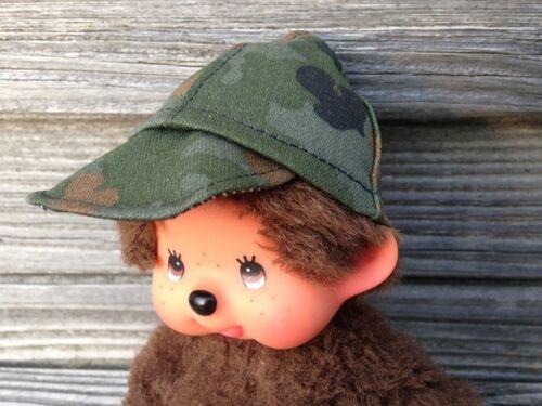 SCHILDKÄPPI Kappe Cap Basecap für MONCHHICHI Gr 20 cm Monchichi camouflage tarn