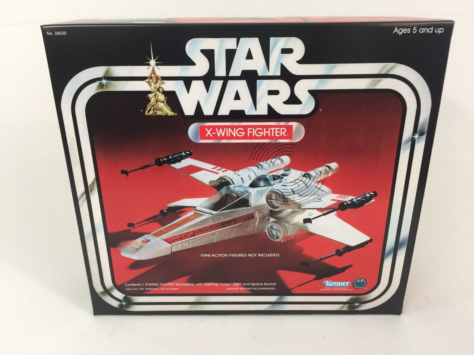 Replacement vintage star wars 1st edition edition edition x-wing box + inserts 704df3