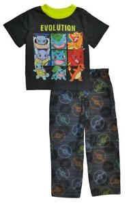 Pokemon Boys 2pc Pajama Pant Set Size 4 6 $38