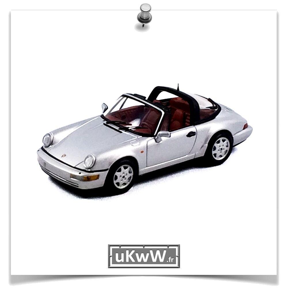 ventas en línea de venta Minichamps 1 43 - Porsche 911 (964) Targa Targa Targa 1989 plata  tienda de descuento