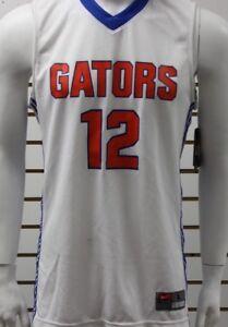 new style f8484 65909 Men's Nike Dri-Fit Florida Gators #12 Basketball Jersey ...