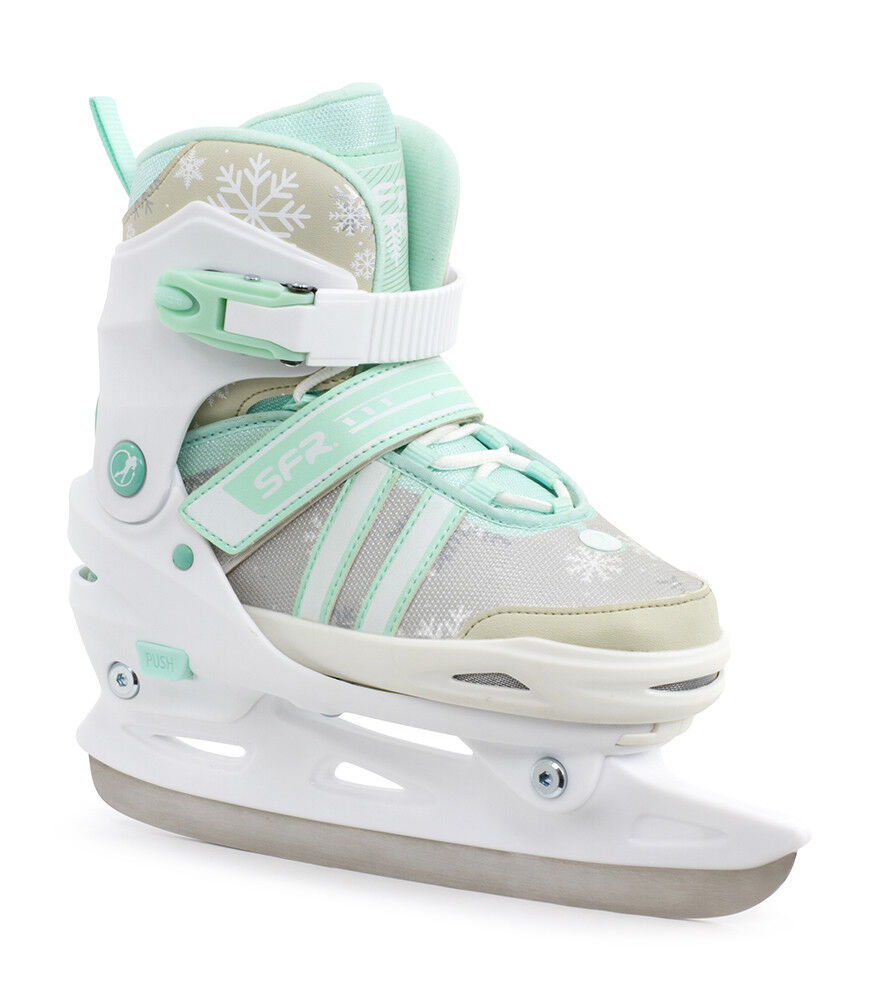SFR Nova Adjustable Ice S s   ldren's Girl's White Teal  best prices and freshest styles