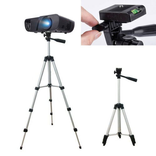 Portable Extendable Tripod Stand Adjustable Camera DLP Mini Projector 35cm-102cm