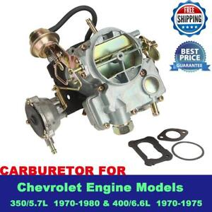 Details about CARBURETOR CARB TYPE ROCHESTER 2GC 2 BARREL FIT FOR CHEVROLET  ENGN 350 400 CHEVY