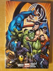 New-Avengers-by-Jonathan-Hickman-v2-hardcover-great-condition-Secret-Wars