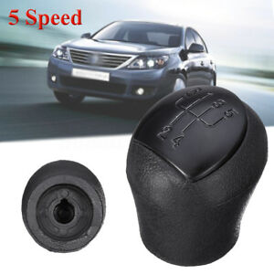 Black-5-Speed-Gear-Shift-Shifter-Knob-For-Renault-Clio-II-Twingo-Kangoo-Laguna-I
