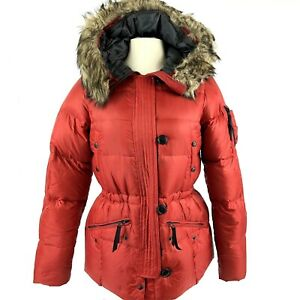 NEW-Eddie-Bauer-Premium-Goose-Down-EB-550-Quilted-Puffer-Jacket-Womens-Small-NWT