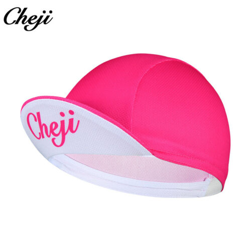2019 CHEJI Biking Cycling Caps Hats Black//Red//Blue//Pink//Orange Bike MTB Cap Hat