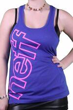 Neff Women's Royal Blue Pink Solidarity Tank Top Shirt
