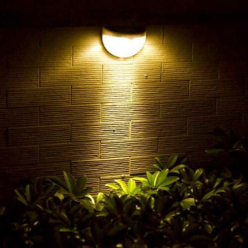 LED Solar Lamp Outdoor Garden Wall Decoration Auto Switch Energy Efficient Light