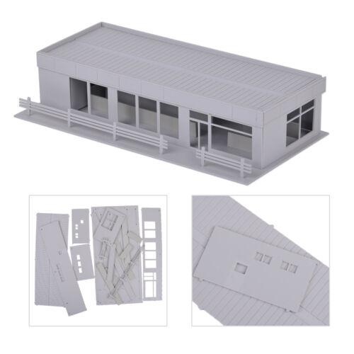 1:87 HO GebAude Laden 21*8*4.6cm GeschAft Modellbahn Haus Modell GeschAft NEU