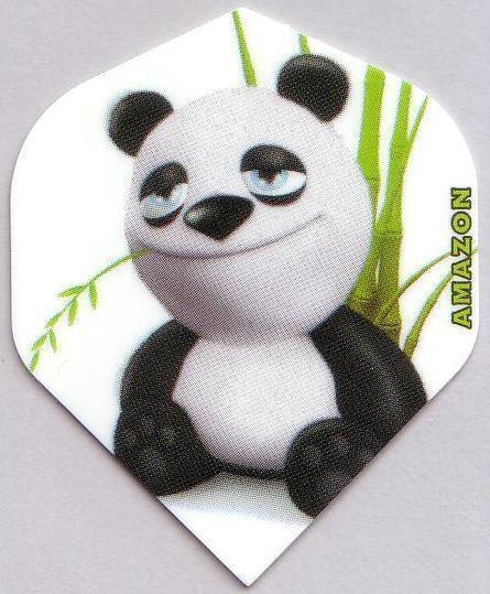 "Amazon Extra Strong Cartoon Dart Flights ""Panda"""