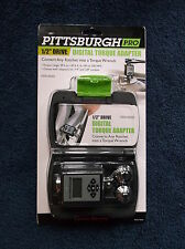 Pittsburgh Pro Digital Torque Wrench Adapter 1/2 1/4 3/8 Drive Fast SHIPPING