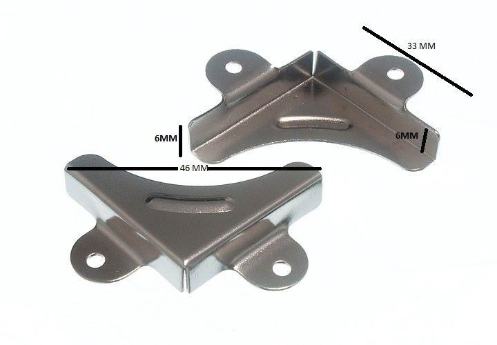 Espejo Esquina Cierre Clip de Soporte Abrazadera CP+ Tornillos Paquete 50