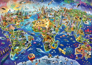 Jigsaw puzzles 1000 pieces discover the world schmidit adrian image is loading jigsaw puzzles 1000 pieces 034 discover the world gumiabroncs Image collections