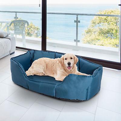 Cama para Perros y Gatos tipo Colchón y Lavable 90x70x28cm Color Azu