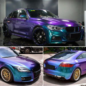 Details About Gloss Chameleon Car Body Film Vinyl Wrap Sticker Decal Sheet Air Bubble Free Diy