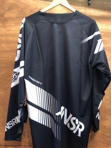 New Answer Elite jersey Black White Motocross MX ATV Men's Medium