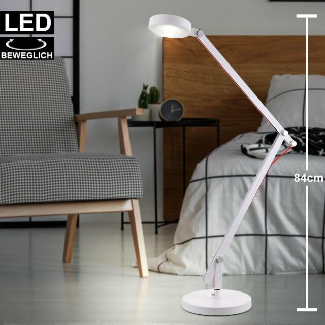 Design Tisch Leuchte Arbeits Zimmr Lese Lampe Steh Stand Beleuchtung Strahler
