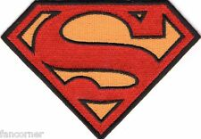 Smallville Ecusson logo Superman avec scratch symbole superman patch hook & loop