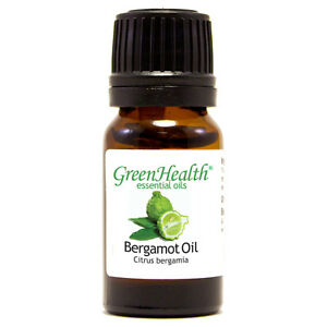 10-ml-Bergamot-Essential-Oil-100-Pure-amp-Natural-GreenHealth