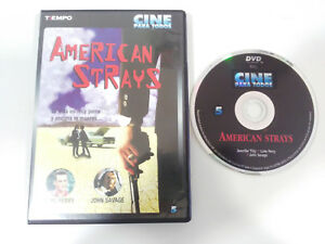 AMERICAN-STRAYS-LUKE-PERRY-JOHN-SAVAGE-DVD-EXTRAS-CASTELLANO-ENGLISH